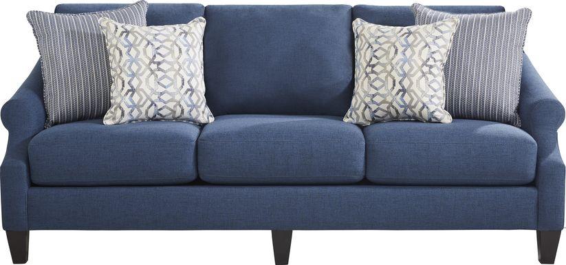 Westerfield Blue Sofa