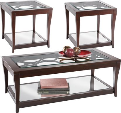 Westfield Ebony 3 Pc Table Set