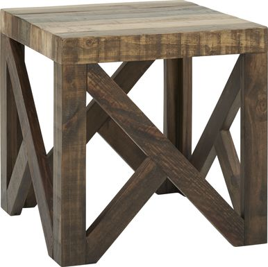 Cindy Crawford Home Westover Hills Brown End Table