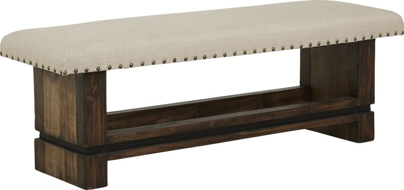Cindy Crawford Home Westover Hills Brown Bench
