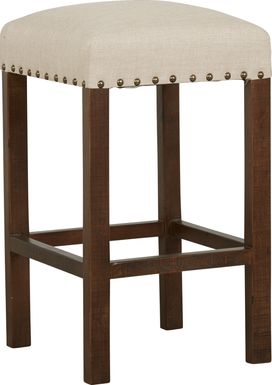 Cindy Crawford Home Westover Hills Brown Bar Height Stool