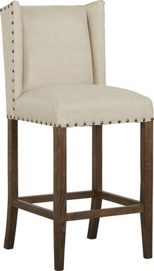 Cindy Crawford Home Westover Hills Brown Barstool