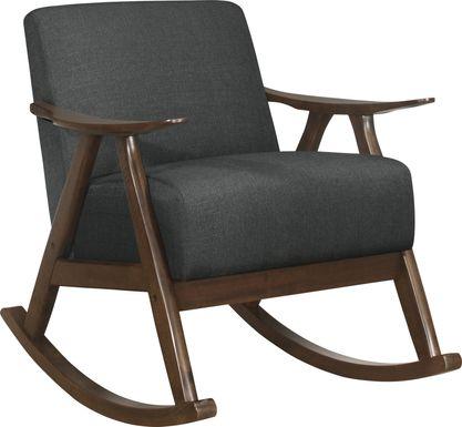 Westroll Dark Gray Rocking Chair