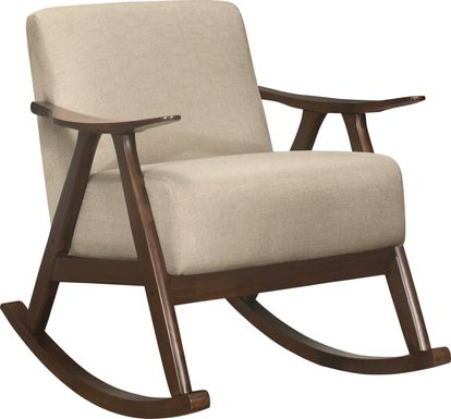 Westroll Tan Rocking Chair