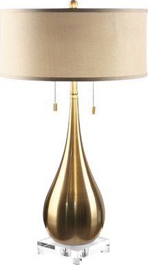 Wheatfield Brass Lamp