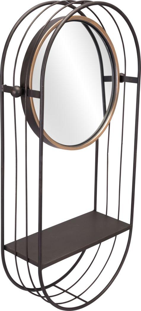 Whistlebrook Gray Mirror