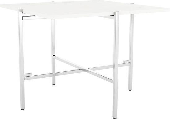 Whitsler White End Table