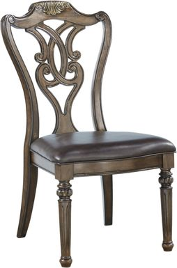 Whittington Cherry Wood Back Side Chair