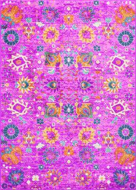 Kids Wildflower Pink 3'9 x 5'9 Rug