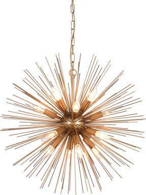 Wilemere Brass Chandelier