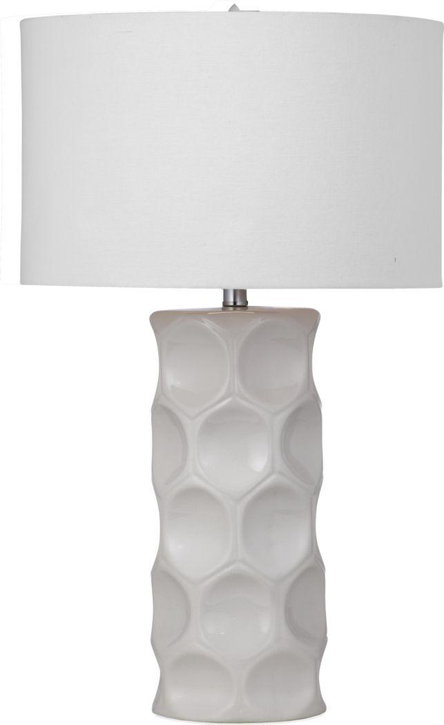 Willow Bridge White Lamp