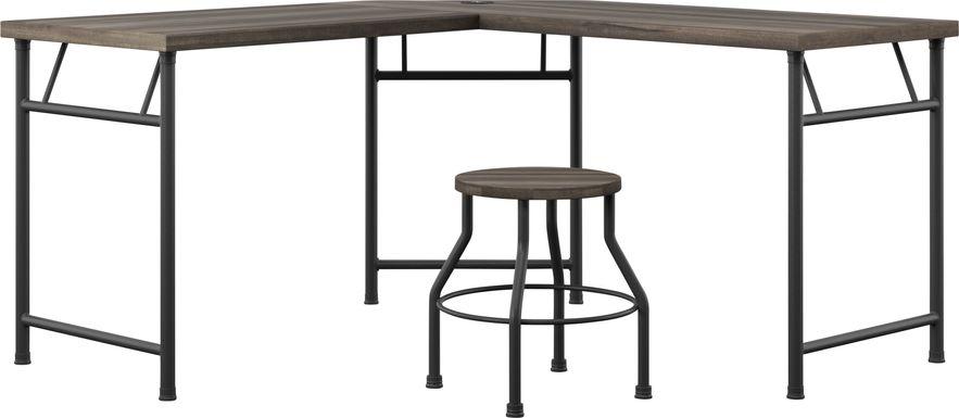Willowmeade Brown Desk