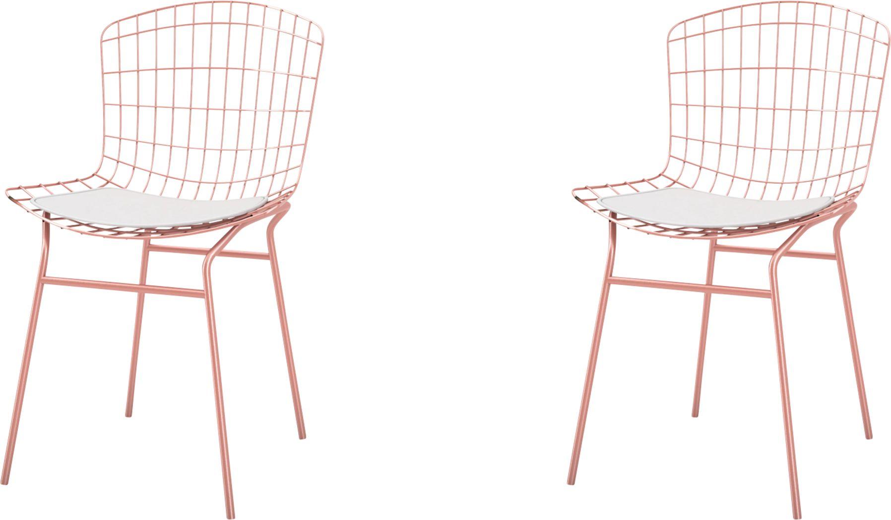 Willowrun White Side Chair, Set of 2