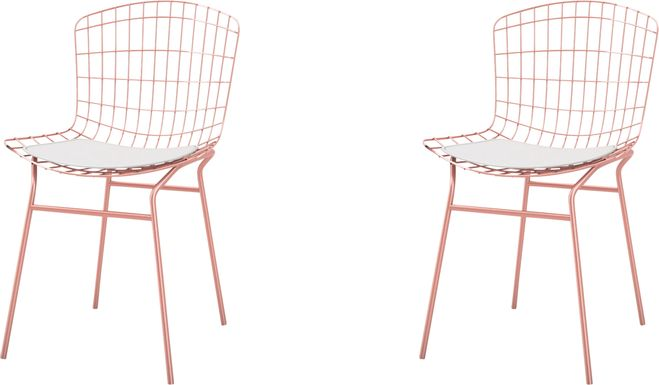 Willowrun White Side Chair, Set of 2