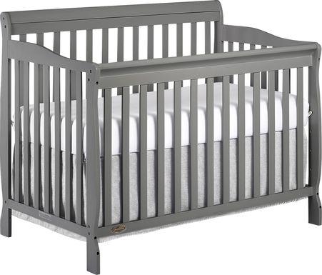 Wilmore Gray Convertible Crib