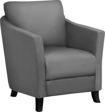 Wilway Gray Accent Chair