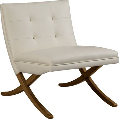 Winbourne White Accent Chair