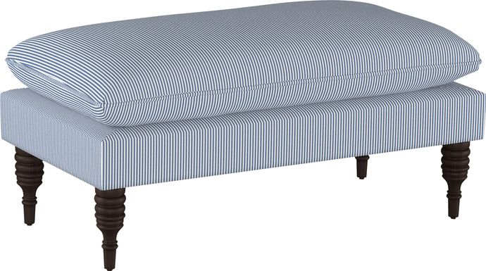 Windell Blue Accent Bench