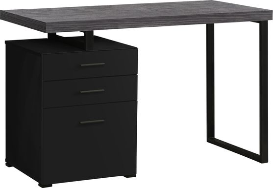 Windmier Black Desk