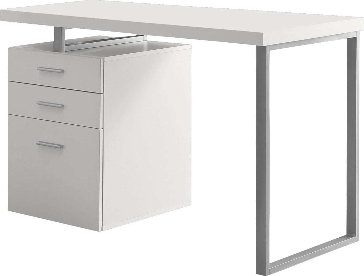 Windmier White Desk