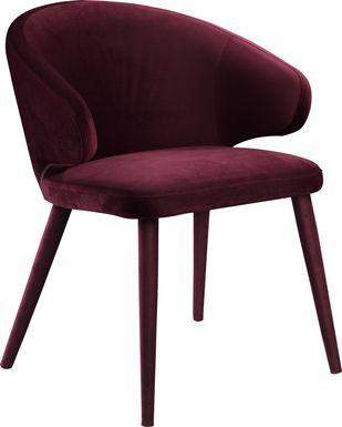 Windpiper Purple Dining Chair