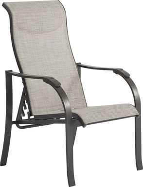 Windy Isle Bronze Outdoor Adjustable Chair
