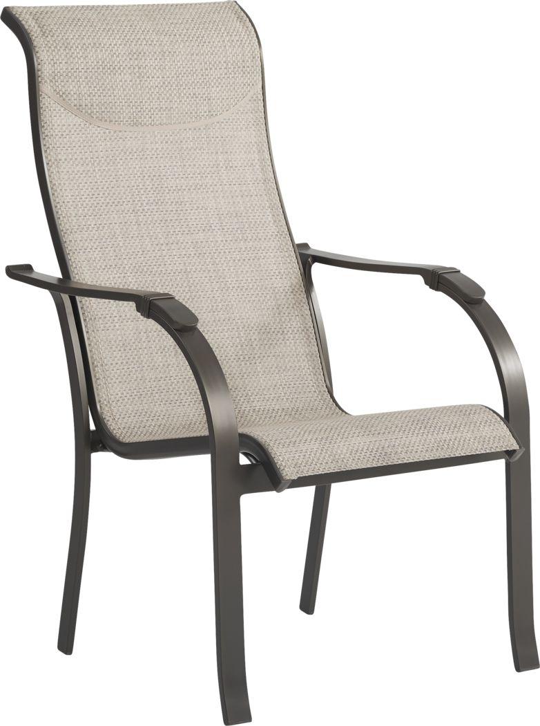 Windy Isle Bronze Outdoor Arm Chair