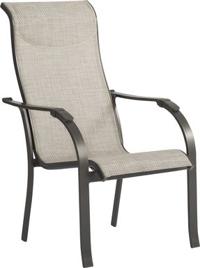 Windy Isle Bronze Outdoor Arm Chair