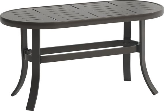 Windy Isle Bronze Outdoor Cocktail Table