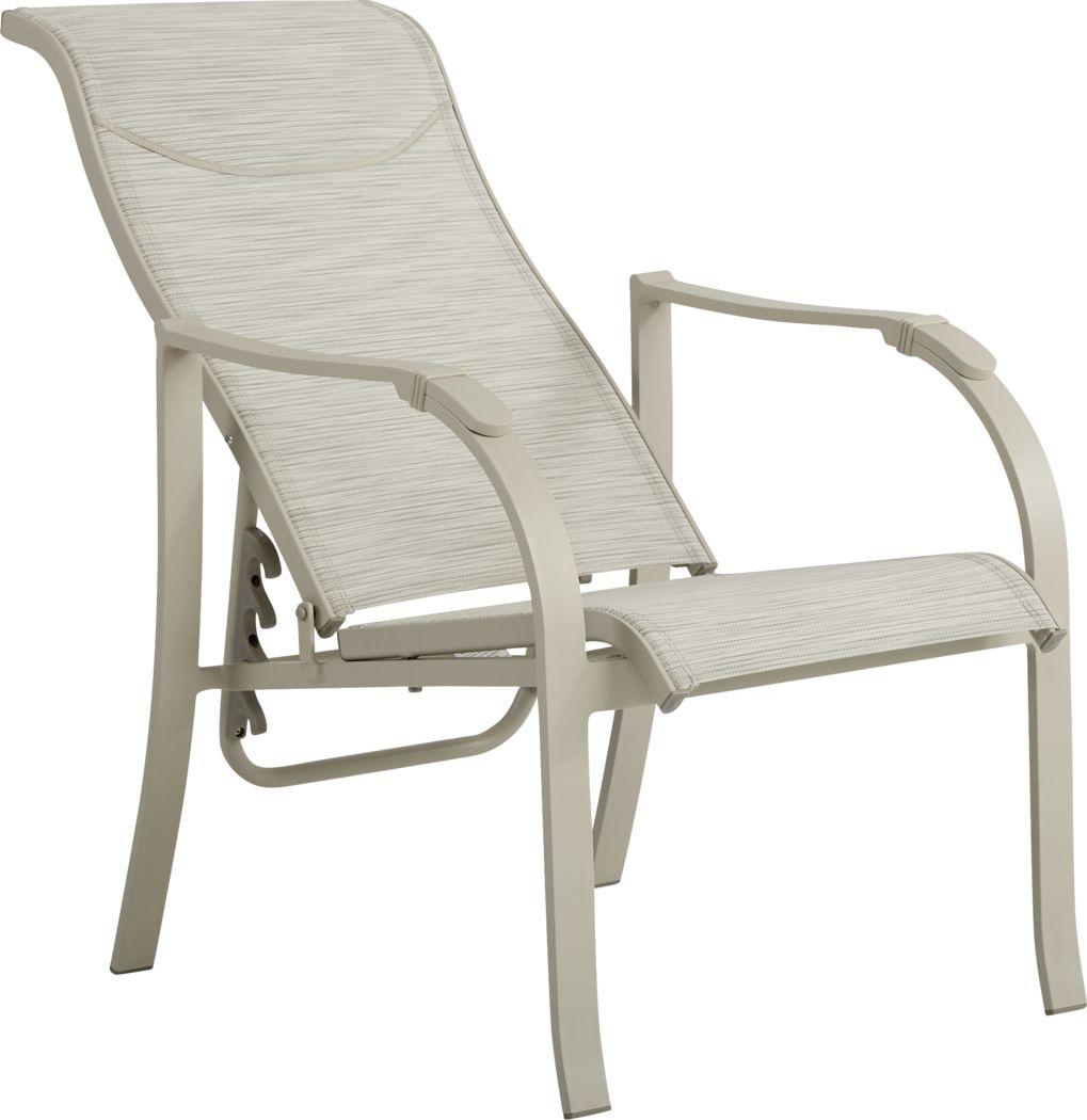 Windy Isle Sand Outdoor Adjustable Chair