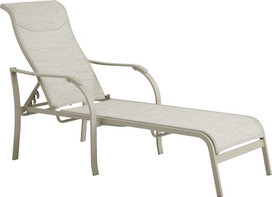 Windy Isle Sand Outdoor Chaise