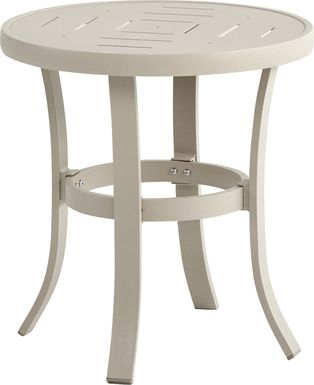 Windy Isle Sand Outdoor End Table