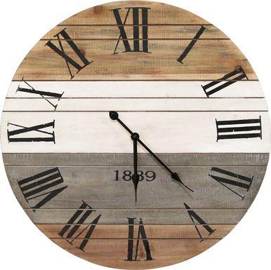 Winsley Brown Clock