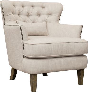 Wintley Beige Accent Chair