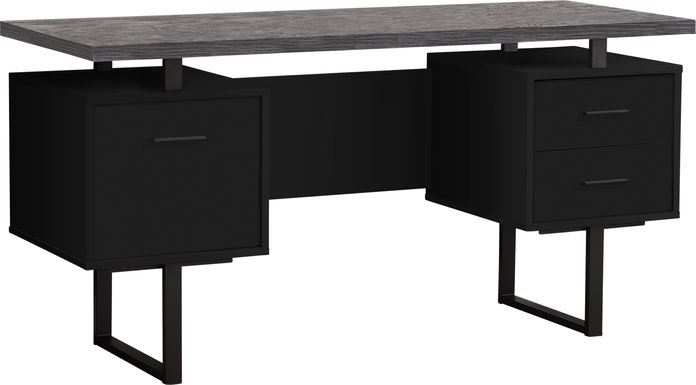 Wisterwood Black Desk