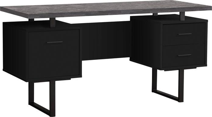 Wisterwood Black Desk
