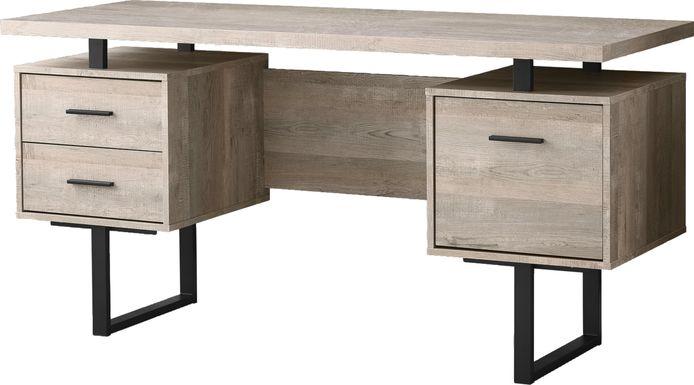 Wisterwood Taupe Desk