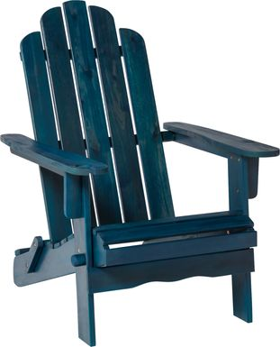 Wonsley Blue Outdoor Accent Chair