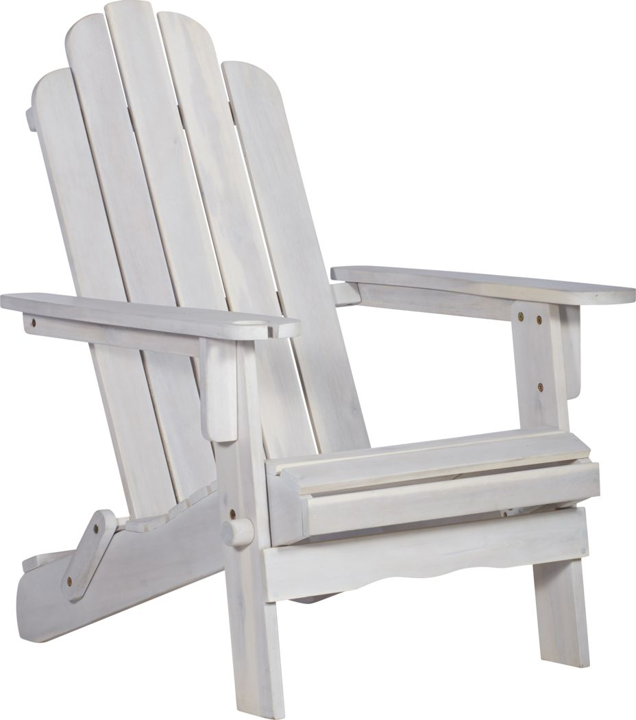 Wonsley White Outdoor Adirondack Chair