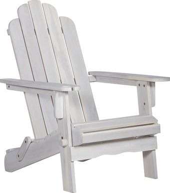 Wonsley White Outdoor Accent Chair