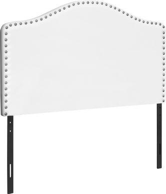 Woodbee White Twin Headboard