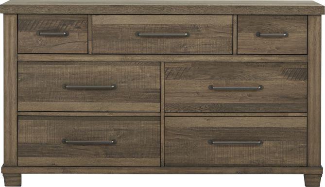 Woodcreek Brown Dresser