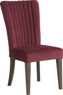 Woodland Avenue Wine Side Chair