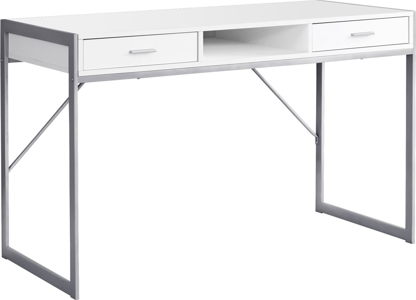 Woodvale White Desk