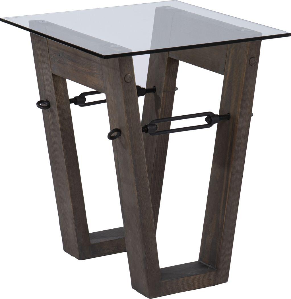 Wyckfield Brown End Table