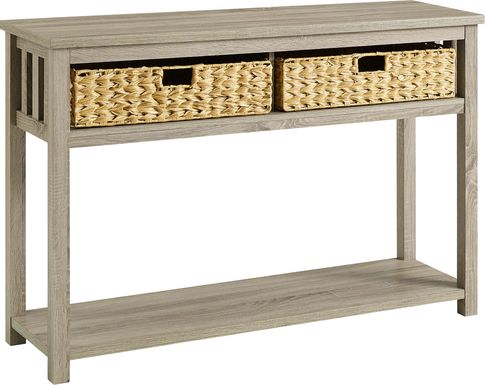 Wylam Driftwood Sofa Table