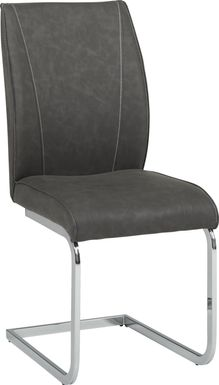 Wyndhall Gray Side Chair