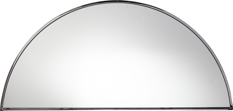 Wyndowlyn Large Silver Mirror