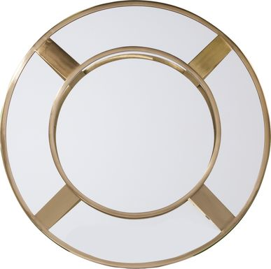 Wynell Brass Accent Mirror