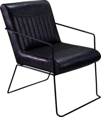 Wynfaire Black Arm Chair (Set of 2)